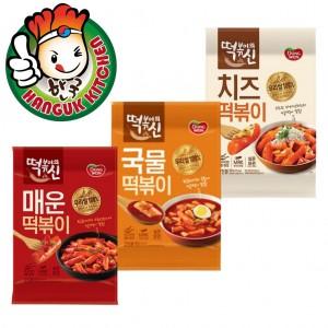 Dongwon Tteokbokki God Series Assorted Flavours Rice Cake Kit 332g - 422g