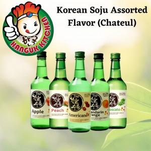 Assorted Korean Soju Chateul 360ml