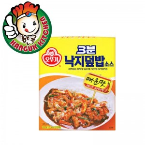 3 Min Convenient Korean Spicy Sauce with Octopus Sauce for Rice 150g