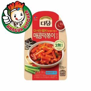 Dadam Sweet & Spicy Tteokbokki Hot Sauce 140g