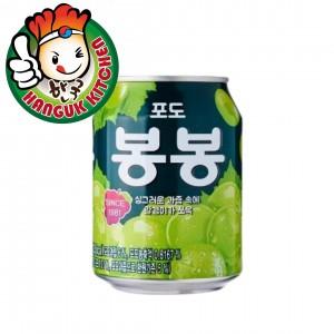 Haitai Grape Juice Drink Popular Korean Beverage 238ml