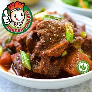 Kimchi Kalbi Jjim (Kimchi Beef Short Rib Stew) 1.6kg