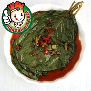 Traditional Korean Banchan Kaetnip Salted Sesame Leaf (Perilla Leaves) 400g