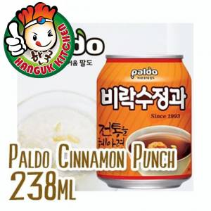 Su Jeong Gwa Korean Cinnamon Punch 238ml (12 Cans / 1 Carton) Paldo Hanguk Kitchen Korean Food Mart