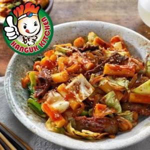 [HEAT & SERVE] Stir fried Spicy Pork Bulgogi with tteokbokki 370g (For 1 pax)