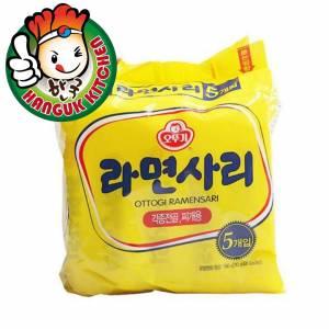 Korean Ottogi Plain Noodle 110g (48 Packets/1 Carton)