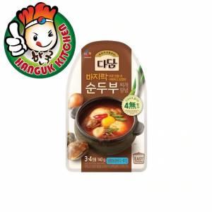Dadam Spicy Soft Tofu Stew Stock 140g