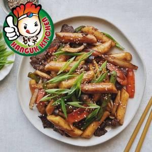 [HEAT & SERVE] Stir fried Beef Bulgogi with tteokbokki 370g (For 1 pax)