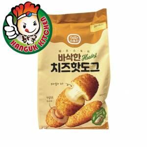 Imported Korean Crispy Corndog -Mozzarella Cheese with Fish Sausage 400g