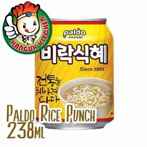 Sikhye Korean Sweet Rice Punch 238ml Paldo (12 Cans / 1 Carton)