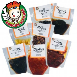 Traditional Korean Banchan in Pouches 120g
