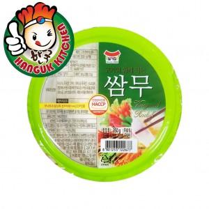 Imported Korean Ssamu Sliced Pickled Radish 350g