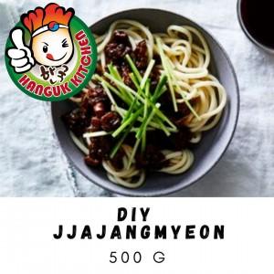 DIY Jjajangmyeon (Korean Black Bean Paste Noodles) 400g