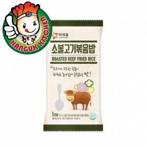 Covenient Korean Fried Rice with Rosted Beef 250g
