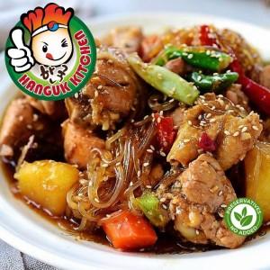 [HEAT & SERVE] Andong Jjimdak (Andong-style Soy Braised Chicken Stew) 1.6kg